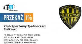 1% podatku z PIT - ZJEDNOCZENI BULKOWO 8841