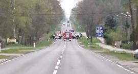 Słupno 21 kwietnia  Wypadek na drodze nr 62