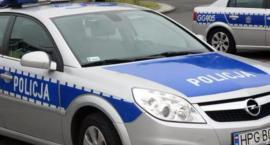 Wypadek motocyklisty w okolicach Bulkowa