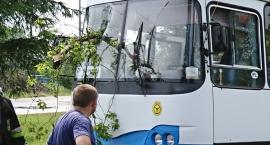 Efekty Nawałnic w rejonie Bodzanowa