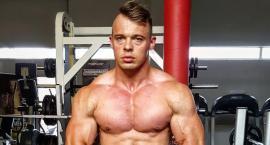 Bartosz Kwaśnik  przygotowuje się do zawodów