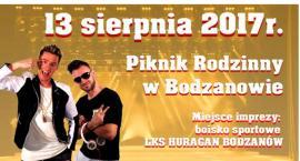 Piknik Rodzinny w Bodzanowie .