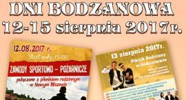 Dni Bodzanowa -12-15 sierpnia 2017roku.