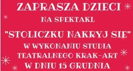 Biblioteka  w Bulkowie zaprasza na spektakl