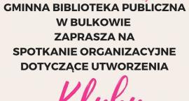 KLUB MALUCHA W BIBLIOTECE