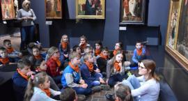 lekcja w Muzeum narodowym - SP Goławin