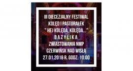 III Diecezjalny Festiwal Kolęd i Pastorałek dla Chórów Parafialnych- Czerwińsk nad Wisłą