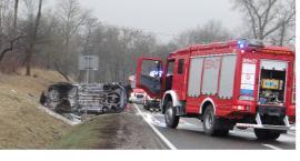 Wypadek na drodze nr 62