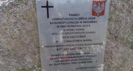 Uroczystości upamiętniające ofiary katastrofy Smoleńskiej w Grzybowie