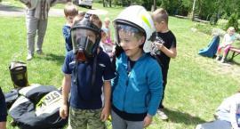 Pokaz strażacki w Goławinie