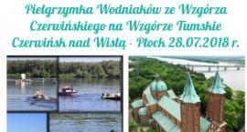 Pielgrzymka Wodniaków ze Wzgórza Czerwińskiego na Wzgórze Tumskie.