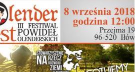 Olenderfest 3 Festiwal Powideł Olenderskich