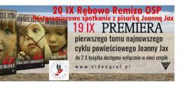 Spotkanie autorskie z pisarką Joanną Jax - 20 IX 2018 Rębowo