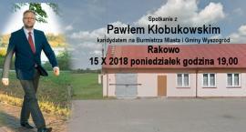 Paweł Kłobukowski - Spotkanie z Wyborcami Rakowo 15 X 2018 godz. 19,00