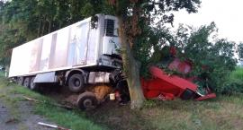 Wypadek w Ciućkowie -dwie osoby nie żyją