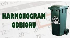 Wyszogród  Harmonogram odbioru odpadów komunalnych na 2019 rok