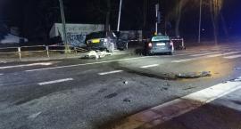 Wypadek na skrzyżowaniu w Wyszogrodzie