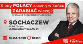 Robert Gwiazdowski w Sochaczewie - przyjdź na spotkanie 16 kwietnia do Hotelu Chopin