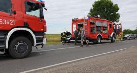 Wypadek w Wyszogrodzie 24.07.2019