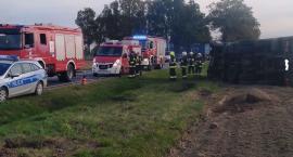 12 września wypadek na drodze nr 62 w Rebowie