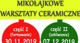Mała Wieś - Mikołajkowe warsztaty ceramiczne