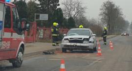 Wypadek w Bodzanowie 21 listopada 2019