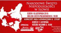 Święto Niepodległości w Iłowie - zaproszenie