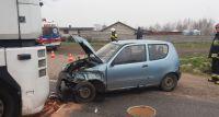 Wypadek na drodze nr 62 w Wyszogrodzie