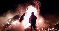 Duży pożar w Rakowie