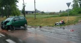 Tragedia z udziałem motocyklisty na DK-62