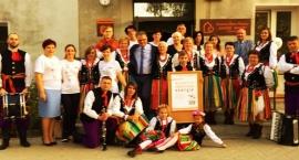Zespół Ludowy Grzybowianki  w Dziennym Domu Pobytu