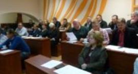 XXIV Sesja Rady Gminy i Miasta Wyszogród.