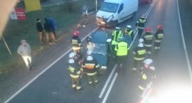 Wypadek w Kamionie .