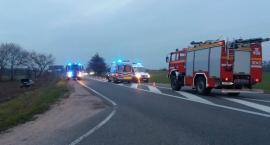 Wypadek  drogowy na Drodze Krajowej - 62 w miejscowości Ciućkowo.