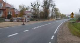 Poprawa bezpieczeństwa ruchu drogowego i ruchu pieszych w miejscowości Rębowo.