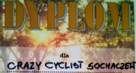 Crazy Cyclist Sochaczew - docenione Dyplomem.