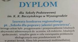 Są  laureatami konkursu! - Szkoła Podstawowa w Wyszogrodzie imienia K.K.Baczyńskiego