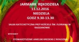 Kiermasz Świąteczny w Radzanowie.