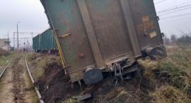 Wykolejenie pociągu towarowego w Sochaczewi