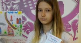 Sukces  uczennicy Szkoły Podstawowej w Wyszogrodzie  na szczeblu wojewódzkim.