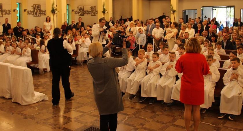 uroczystosci-procesje-odpusty-festyny, KOMUNIA IZABELINIE - zdjęcie, fotografia