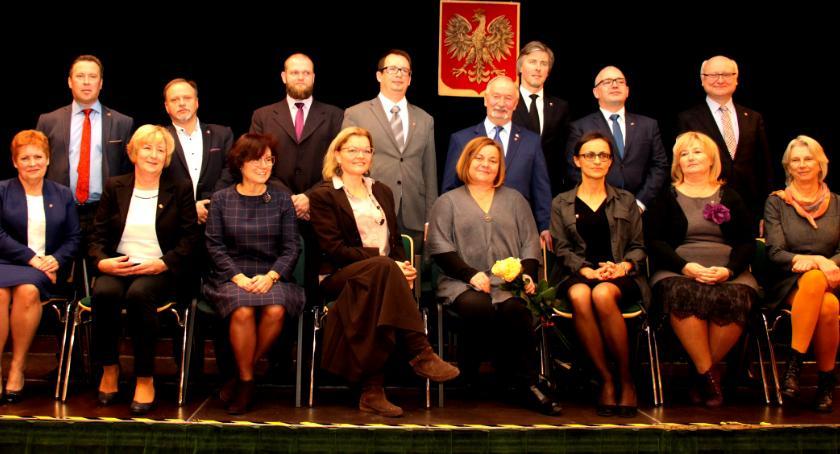 wojt-rada-urzad-wybory-zebrania, UROCZYSTA SESJA GMINY IZABELIN - zdjęcie, fotografia