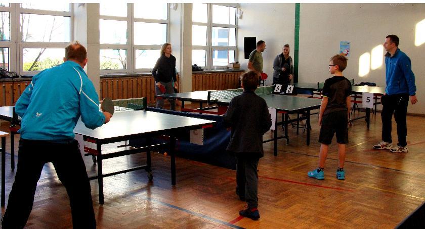 tenis-stolowy-ziemny, TURNIEJ TENISA STOŁOWEGO - zdjęcie, fotografia