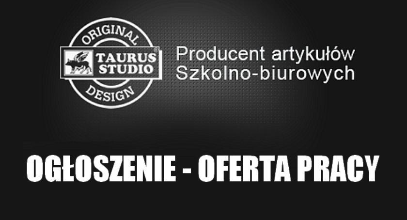 ogłoszenia, reklamy, TOURUS STUDIO MOŚCISKACH POSZUKUJE PRACY - zdjęcie, fotografia