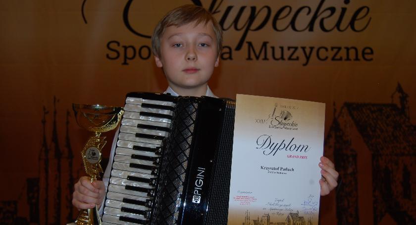 Koncerty, Sukces młodego akordeonisty Zwolenia - zdjęcie, fotografia