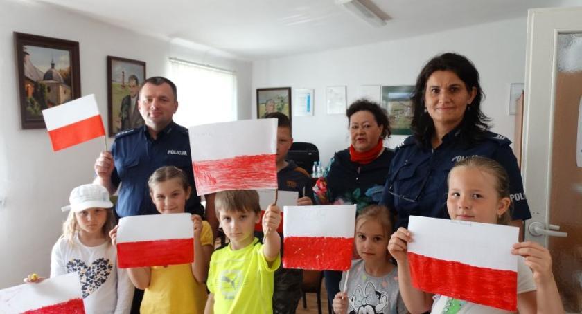 Społeczność, Święto Flagi spotkanie Jasieńcu Soleckim - zdjęcie, fotografia