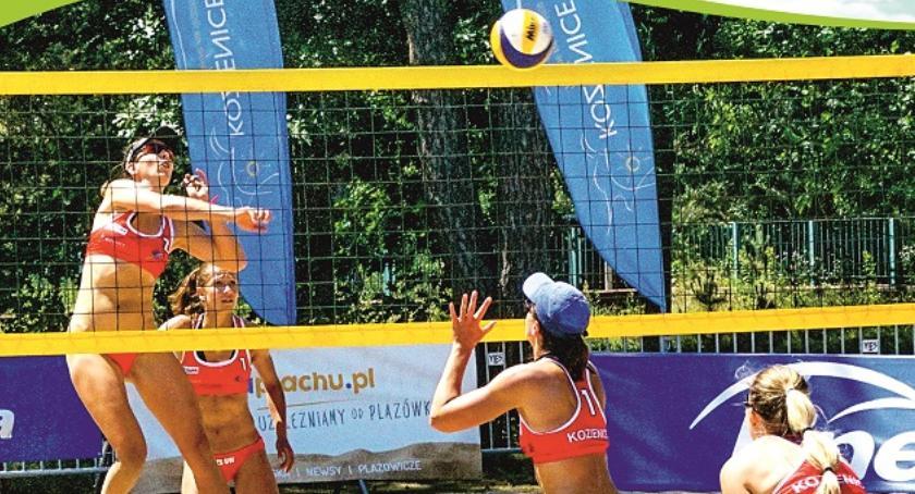 Sport, Ogólnopolski Turniej Siatkówki Plażowej Kobiet Kozienicach - zdjęcie, fotografia