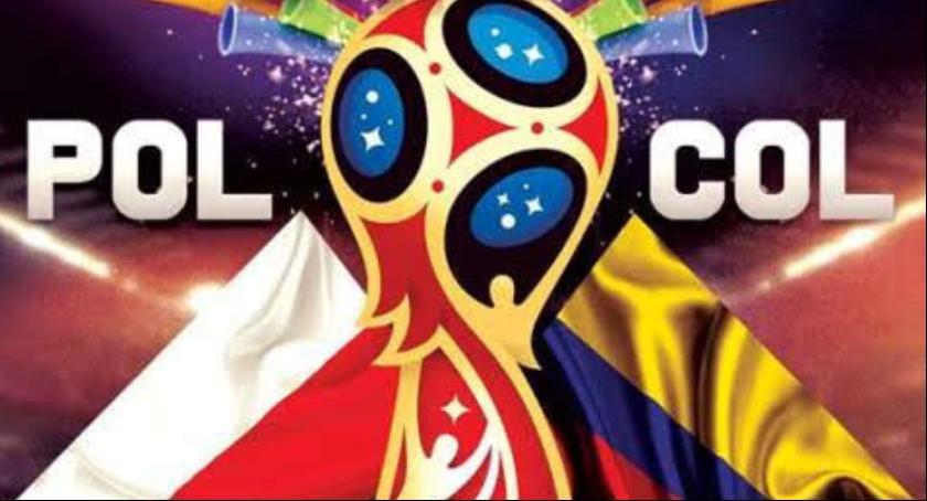 Społeczność, Transmisja meczu mistrzostw świata Polska Kolumbia zalewem Zwoleniu - zdjęcie, fotografia
