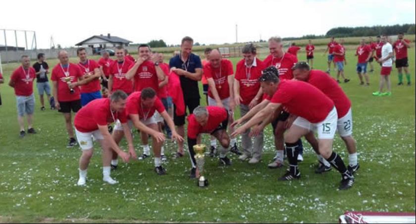 Sport, Mazowiecki Turniej Piłki Nożnej Jednostek Straży Pożarnej Kazanowie - zdjęcie, fotografia