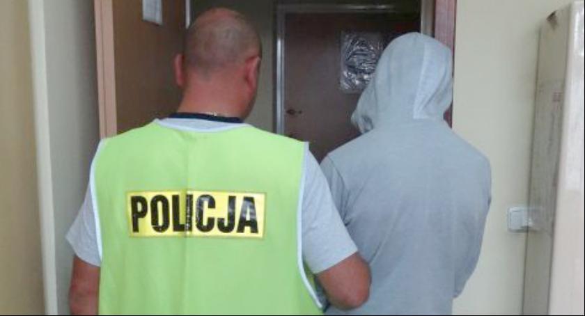 Kronika kryminalna, Sprawca kradzieży narkotykami - zdjęcie, fotografia